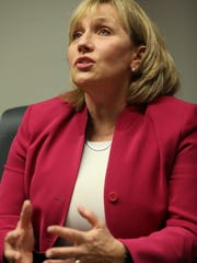 Lt. Gov. Kim Guadagno speaks to The Record about her run for governor.