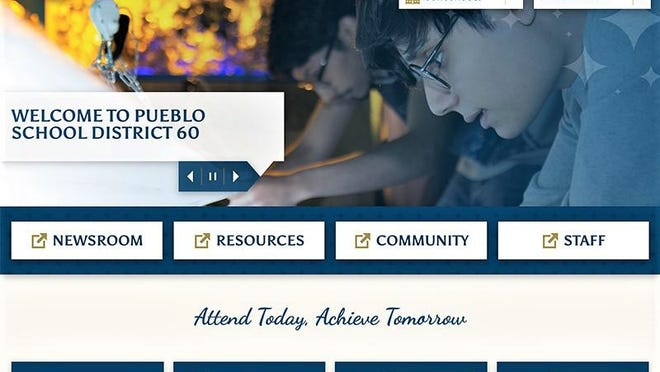 The homepage of the new PuebloD60.org website, designed for ease of navigation and improved presentation.