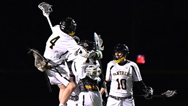 Cedar Grove's boys lacrosse team finishes undefeated in conference play to win the Kirst division in its second varsity season.