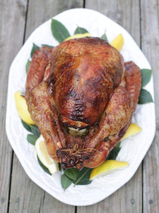 Thanksgiving turkey prepared in the Detroit Free Press test kitchen ...