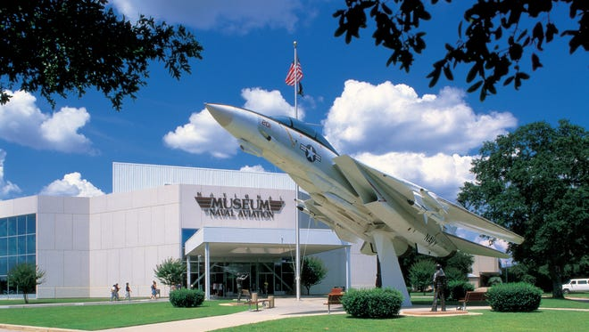 """The National Naval Aviation Museum on Pensacola Naval Air Station was ranked a """"Top 20 Museum in the USA"""" by Yelp in December 2015."""