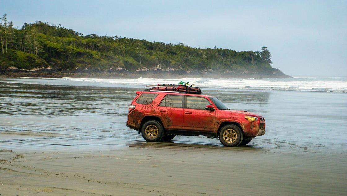 Review Toyota 4Runner Trail Premium