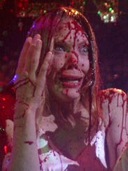 Sissy Spacek from the 1976 horror film 'Carrie.'