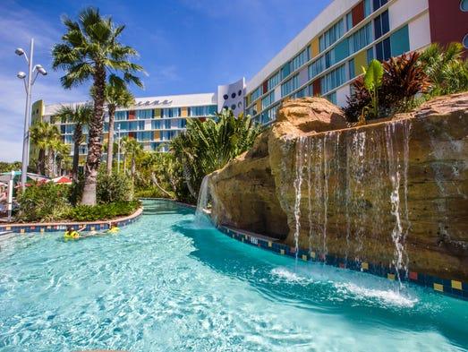 Universal's Cabana Bay Beach Resort: An amusement park