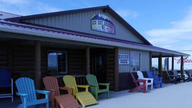 Big Sky Grocery is located 17 miles west of Lewistown at the junction of U.S. Highways 89 and 191.