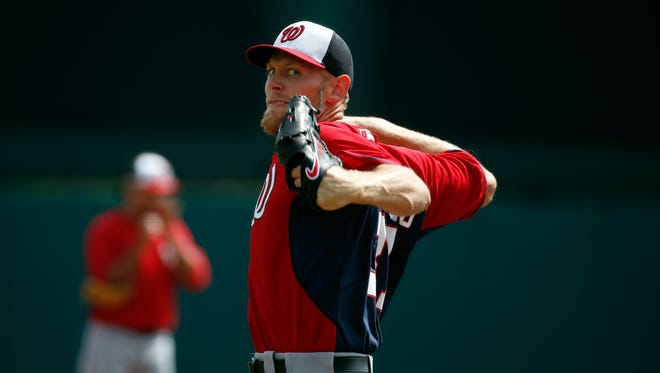 Stephen Strasburg unveiled a slider this spring and added it to his pitching repertoire.