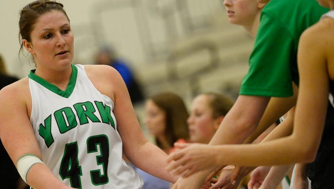 Katie Wagner and the York College women's basketball team are unbeaten through the first eight games of the season. They return from holiday break Monday at the Hoops for Hounds Classic in Williamsport.