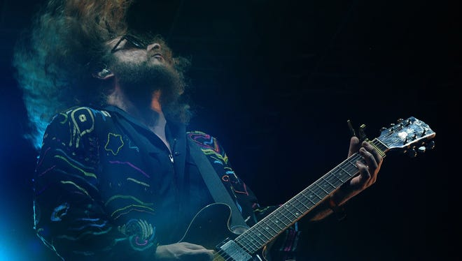 Jim James of My Morning Jacket performs at the Bonnaroo Music and Arts Festival on Saturday June 13, 2015, in Manchester.