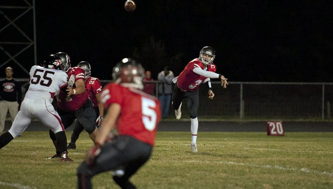 Buckeye Central Grant Loy headlines individual performances with four passing touchdowns