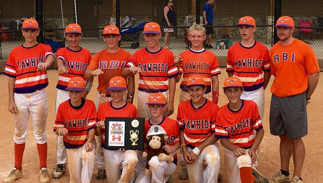 The Raleigh Baseball Institute 13 and under baseball team won the Blazing Bats Classic tournament in Upstate South Carolina over the weekend.