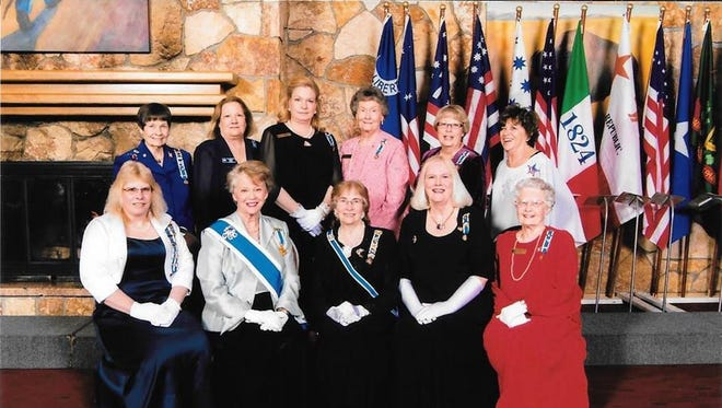 Delegates from the Black Eagle-Assinniboine Chapter, NSDAR