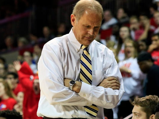 NCAA Basketball: Michigan at Southern Methodist