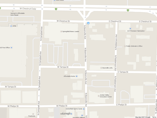 Map of Springfield on Google Maps.