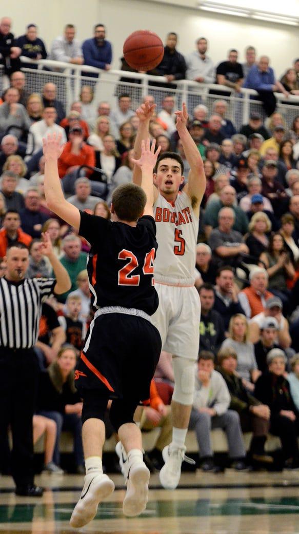 Northeastern's Antonio Rizzuto is a finalist for the 2018 Mr. Pennsylvania Basketball Award. DISPATCH FILE PHOTO