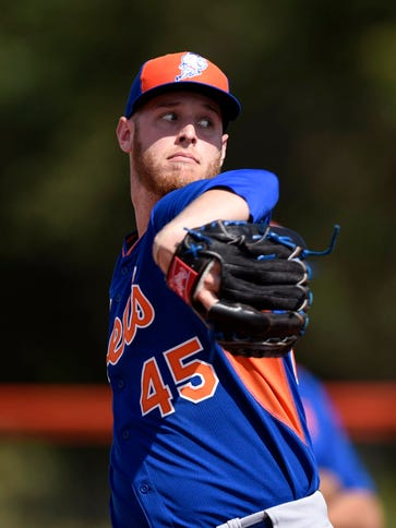 Feb 23, 2015; Port St. Lucie, FL, USA; New York Mets