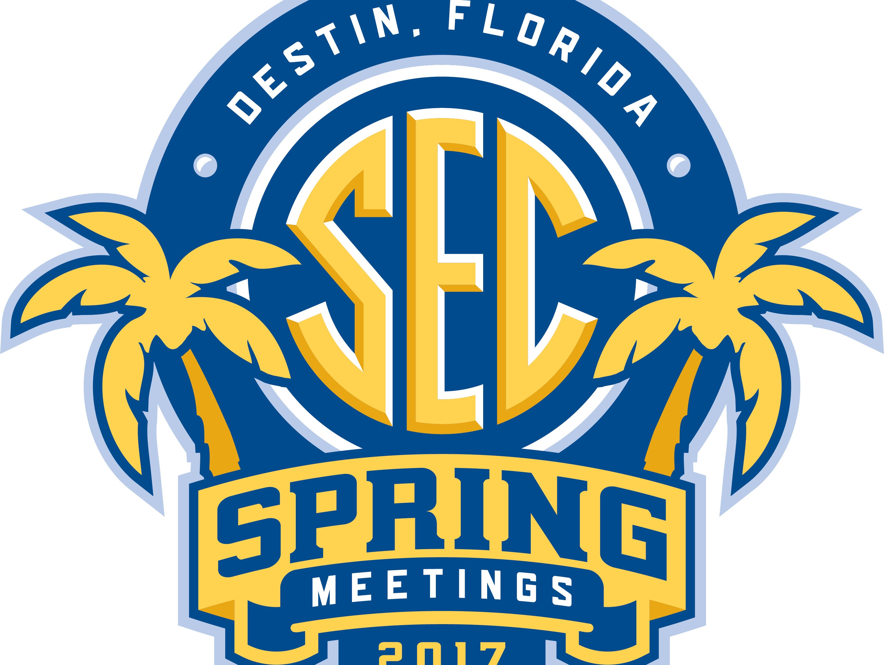 The Southeastern Conference spring meetings are taking place from May 30-June 2 in Destin, Florida.