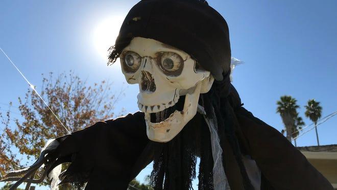 Halloween decorations in Salinas