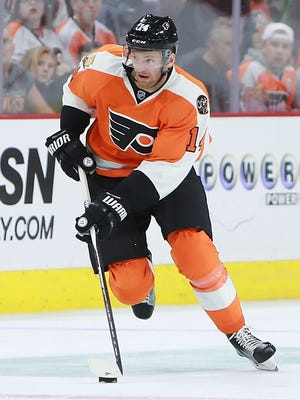 Sean Couturier is the best offensive role he's had in his six-year career.