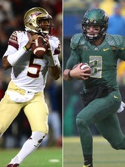 The past two Heisman Trophy winners meet Thursday in