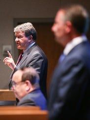 N.Y. State Senator George Latimer answers questions