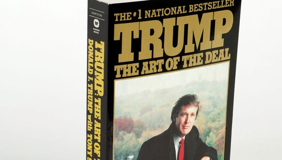 This is the cover of the book Trump: The Art Of the
