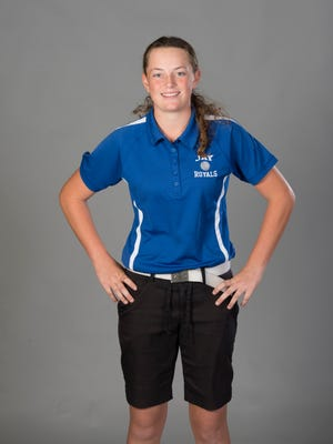 Sarah Edwards - golf - Jay High School - 2017-Fall-All Area Athlete - portrait in Pensacola on Tuesday, November 14, 2017.