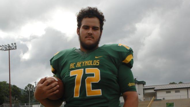 Reynolds junior lineman Jake Setterlind.