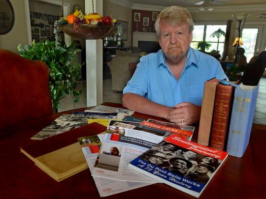 DuPont retiree Craig Skaggs, a former lobbyist for