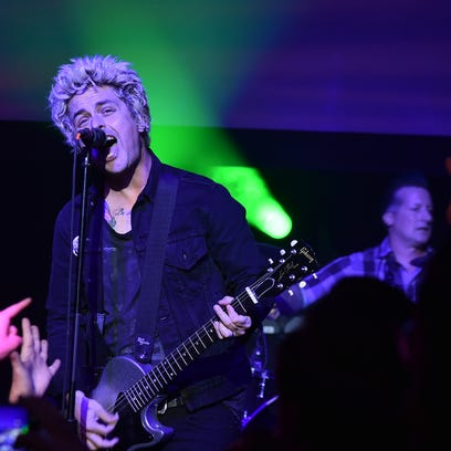 Green Day is listing a stop on March 30 at the Resch