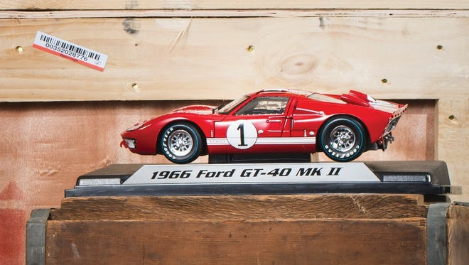 The Henry Ford Store offers a range of unique items. Pictured: The 1996 Ford GT40 LeMane's #1 Die Cast Car.