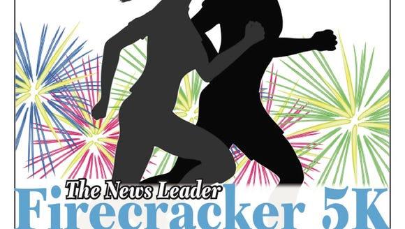 Firecracker 5K - News Leader logo