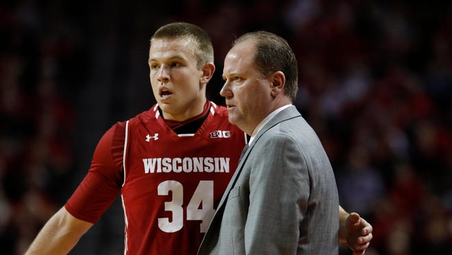Injuries have forced Greg Gard to play Brad Davison at point guard.