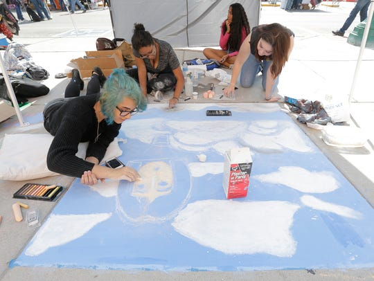 El Pasoans and visiting artists get to show their skills
