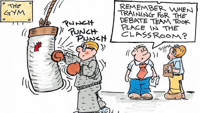 Charlie Daniel cartoon for Oct. 7, 2016
