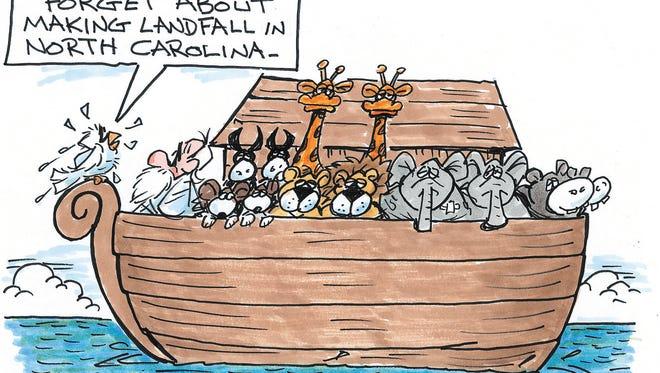 Charlie Daniel cartoon for Oct. 13, 2016