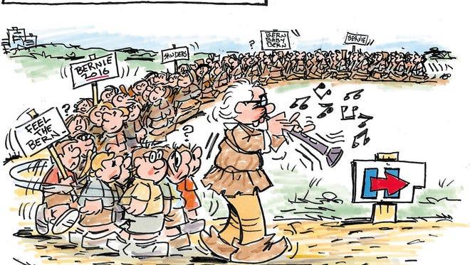 Charlie Daniel cartoon for Oct. 20, 2016