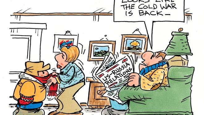 Charlie Daniel's cartoon for Monday, Jan. 9, 2017.