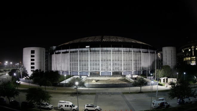 "Dubbed the ""Eighth Wonder of the World,"" the Astrodome was the first domed and air-conditioned stadium."