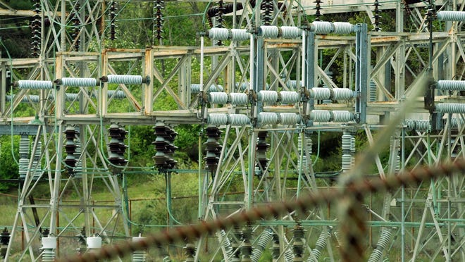 This substation in Pleasant Valley plays a key role in the power grid in the area.