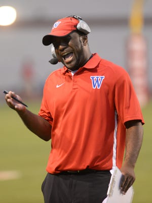 Woodlawn head coach Jerwin Wilson believes he was ordained to be the Knights' head coach.