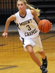 Mount Carmel's Tyra Buss remains Illinois' career scoring leader and was a standout at Indiana University.