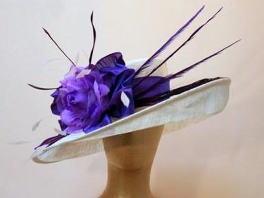 Dees hats Purple