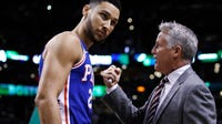 Philadelphia 76ers coach Brett Brown says Markelle Fultz has worked hard at improving his jumper after a head-scratching rookie season