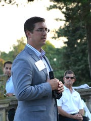 Scott Shirley, executive director of Uplifting Athletes,