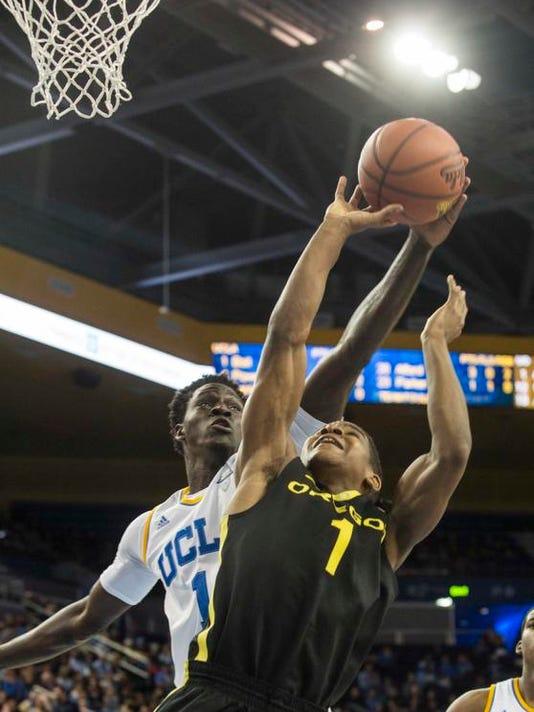Oregon UCLA Basketball