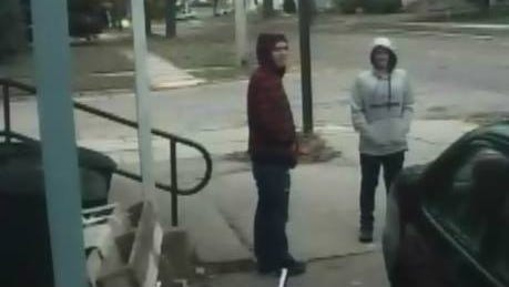After an armed robbery Monday, Appleton police released surveillance photos of two suspects and are asking for help identifying them.