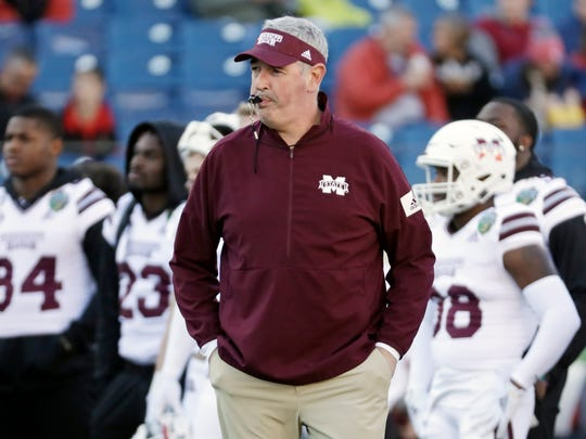 Joe Moorhead was fired by Mississippi State on Friday, Jan. 3, 2020.