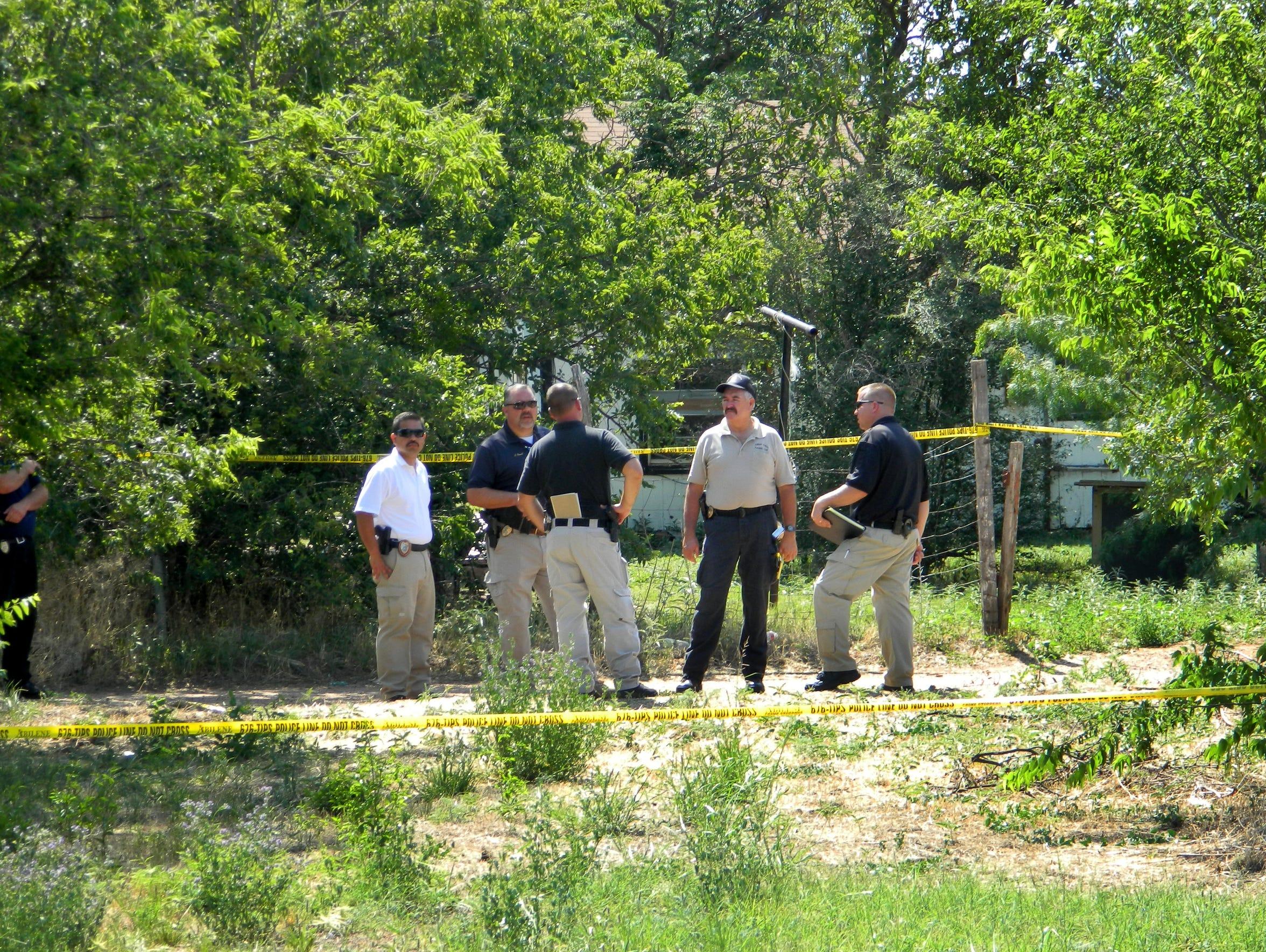 Police investigate the death of Dan Nickerson, whose