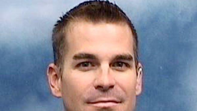 Mesa police Officer Brandon Mendoza
