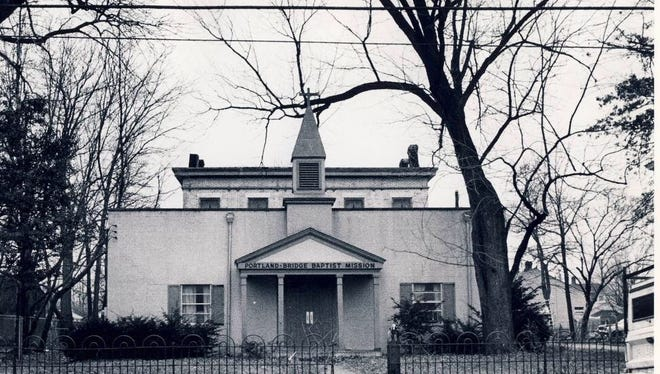 The Portland Museum, 2308 Portland Ave., was created from the Portland Bridge Baptist Mission and a mansion behind it, shown in 1981.
